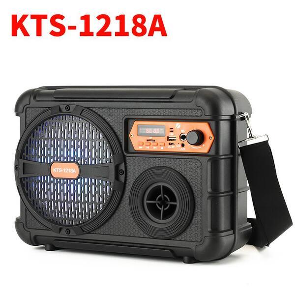 """Активна Bluetooth Караоке Колона с микрофон  6.5"""" KTS-1218A с компактен размер"""