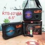 """Активна Bluetooth Караоке Колона с микрофон  6.5"""" KTS-1218A"""