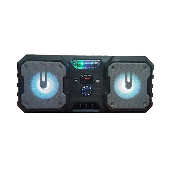 """Активна Bluetooth караоке тонколона 2x 5.25"""" с микрофон KTS 1148"""