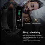 Smart спортна гривна M5 Pro с термометър