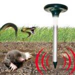 Соларен ултразвуков уред против гризачи, мишки, змии, насекоми