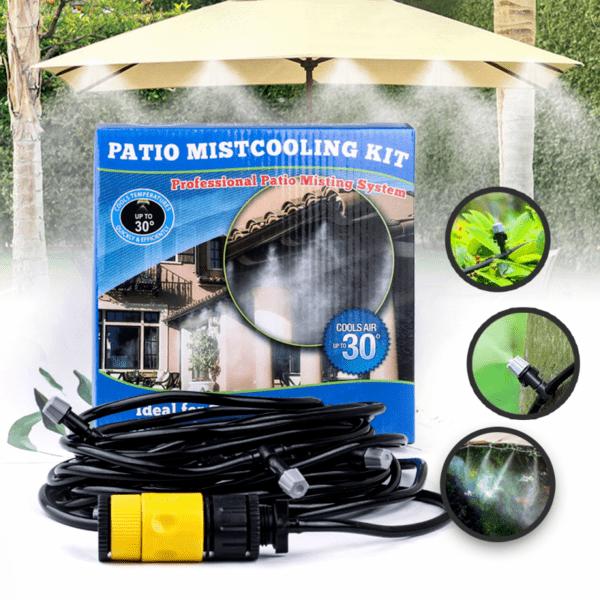 """Система за Охлаждане """"Водна Мъгла"""" Patio Mistcooling kit 10/15/20м."""