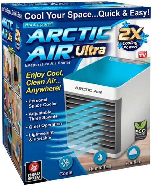 Arctic Air Ultra Охладител за стая с вентилатор 3в1