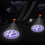 Лого проектор за кола Светеща емблема Wireless Courtesy Door