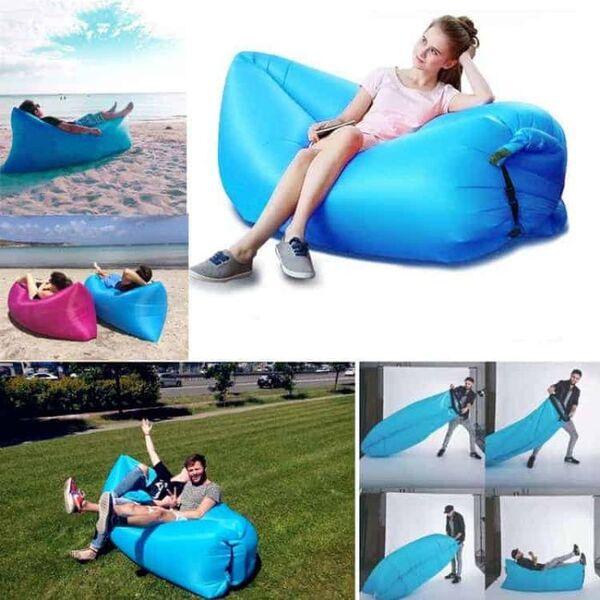 Самонадуваемо легло Lazy Sofa Bubble Bed