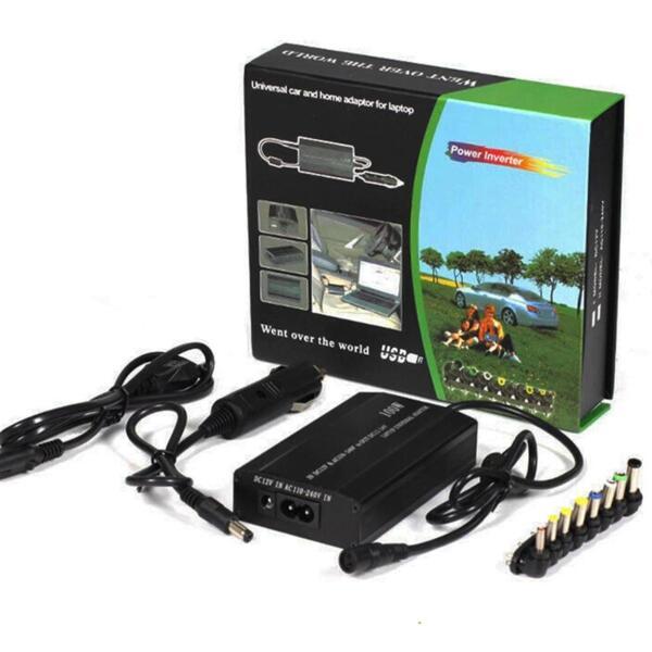 Универсално зарядно Automat, за лаптопи, 120W, 12V, 220V, за кола и за ел. мрежа