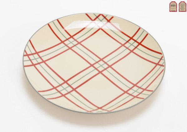 Комплект от 6 бр. чиния TARTAN