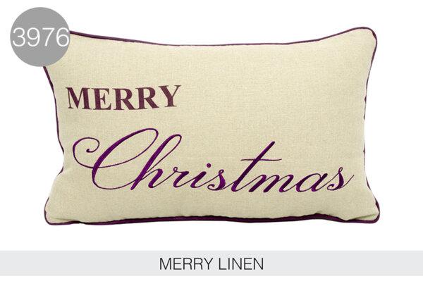 Декоративна възглавница MERRY CHRISTMAS