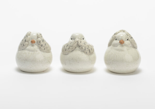 Комплект декоративни фигури BIRDS SAGES