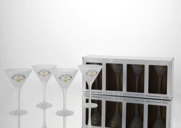 Комплект чаши  за коктейли COCTELES
