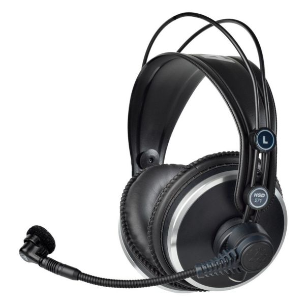 AKG HSD 271 over-ear слушалки с микрофон, черни