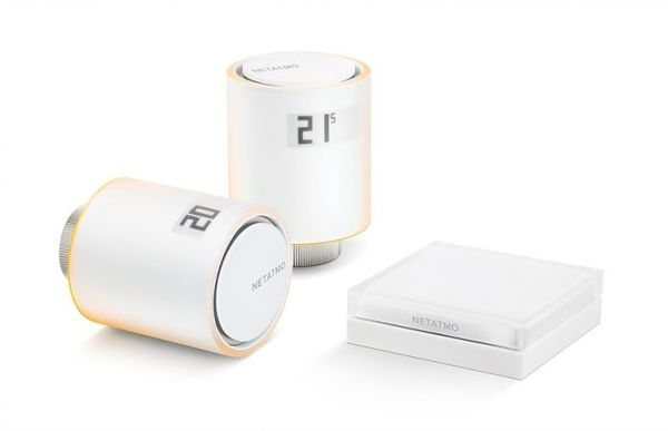 Интелигентни радиаторни вентили NETATMO Starter Pack