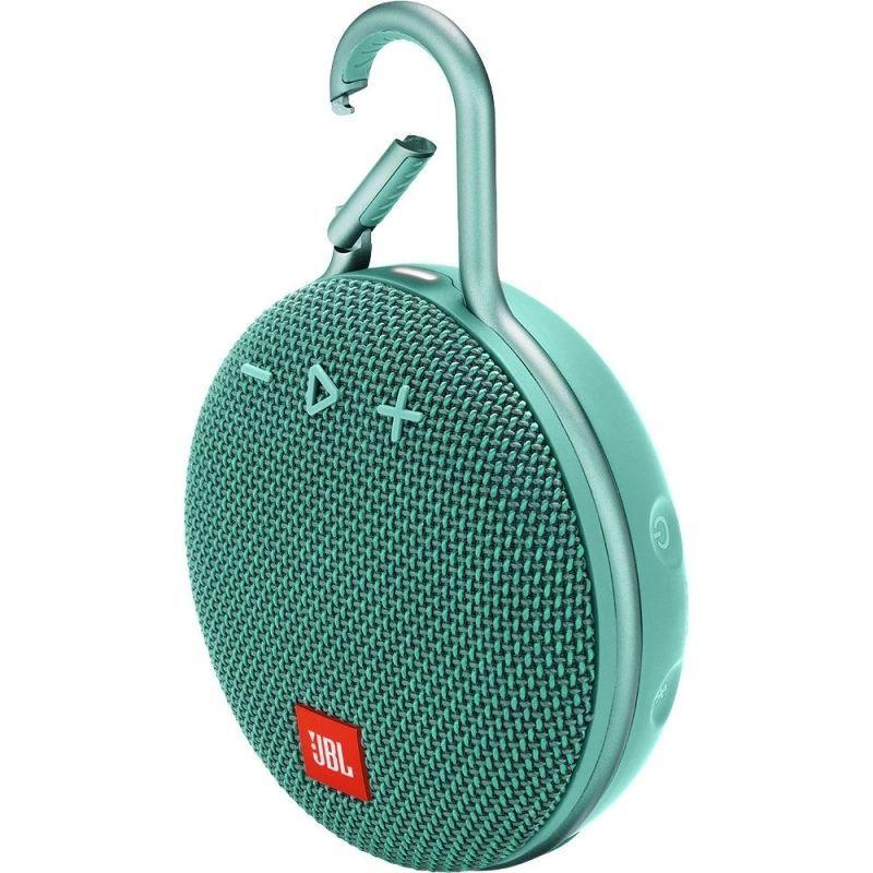 Безжична Водоустойчива Bluetooth Колона JBL Clip 3 Teal