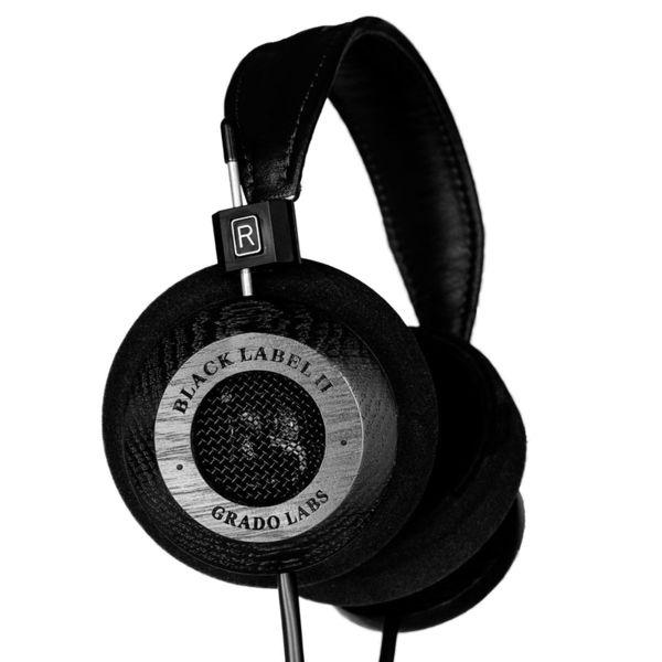 Grado Labs Limited Edition Black Label II over-ear слушалки, черни