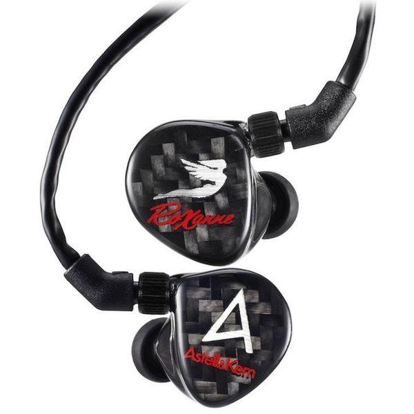 Astell&Kern AKR03 in-ear слушалки, черни
