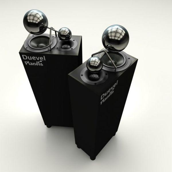 Duevel Planets Glossy Black