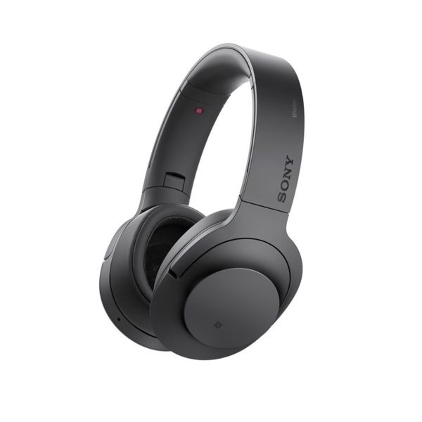 Sony Безжични шумопотискащи слушалки MDR-100ABN h.ear on, черни