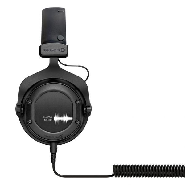 BEYERDYNAMIC CUSTOM STUDIO over-ear слушалки, черни