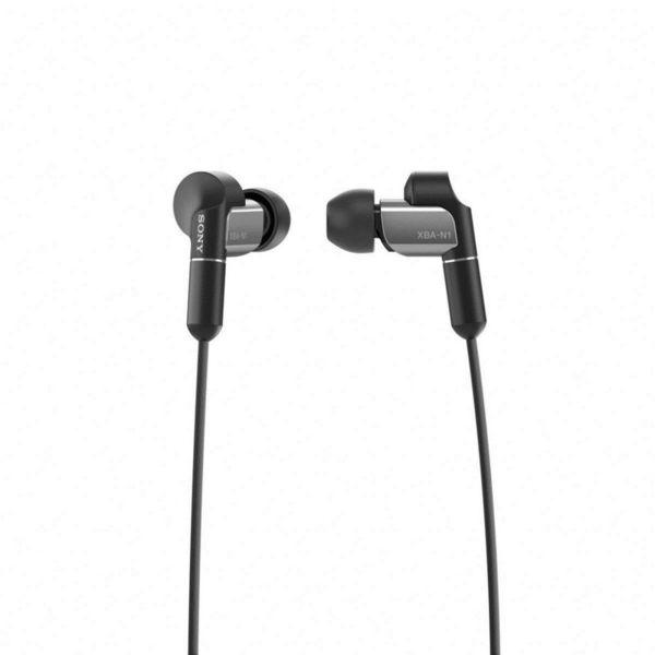 Sony Слушалки XBA-N1AP, черни