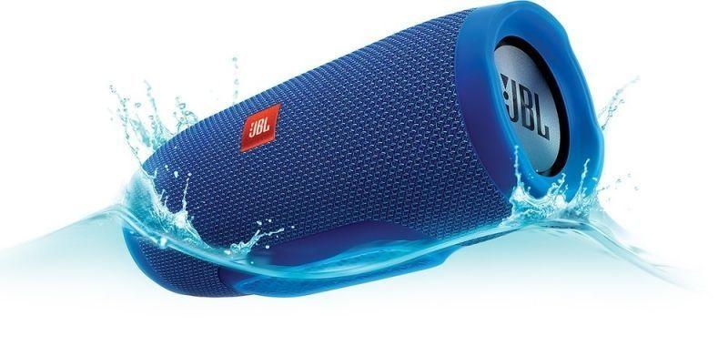 Безжична Водоустойчива Bluetooth Колона JBL Charge 3 Blu