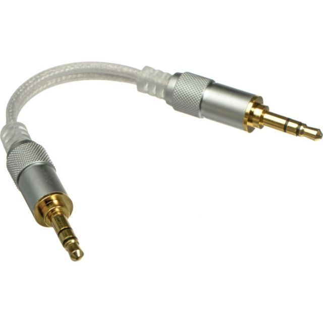 """FiiO L16 Stereo Audio Cable with 1/8"""" TRS Connectors (2.2"""")"""