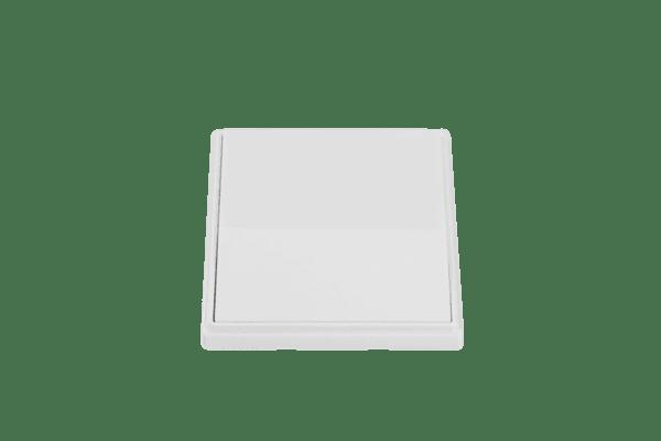 Кинетичен ключ за осветление-единичен-Бял