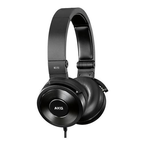 AKG K618 DJ on-ear слушалки, черни