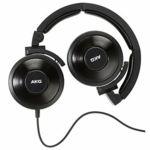 AKG K618 DJ on-ear слушалки, черни