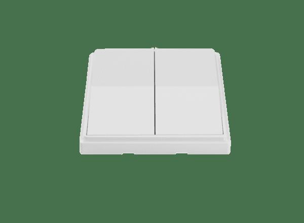 Кинетичен ключ за осветление-двоен-Бял