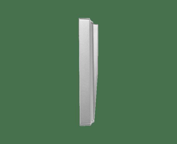 Кинетичен ключ за осветление-троен-Сребрист