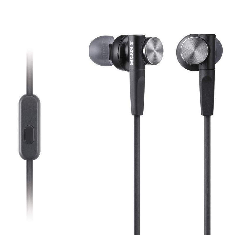 Sony Слушалки MDR-XB50AP с EXTRA BASS™, черни