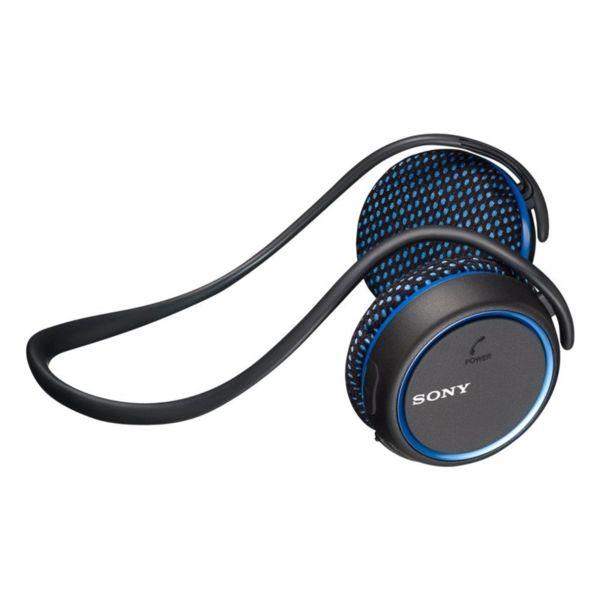 Sony Спортни безжични слушалки MDR-AS700BT, сини