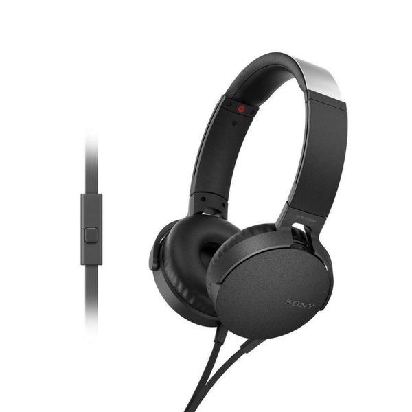 Sony Слушалки MDR-XB550AP с EXTRA BASS™, черни