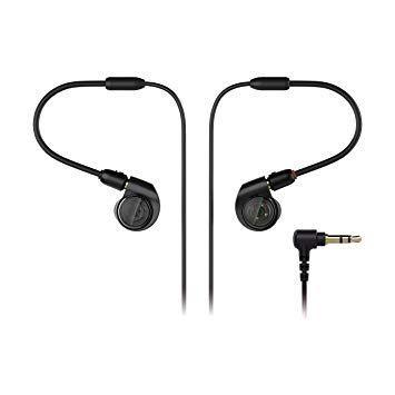ATH-E40 in-ear слушалки, черни