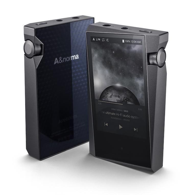 Astell&Kern A&norma SR15 Hi-Res Преносим Аудио Плейър + In-Ear Слушалки Billie Jean