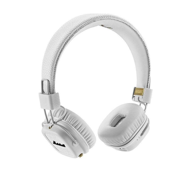 Marshall MAJOR III BLUETOOTH on-ear слушалки, бели