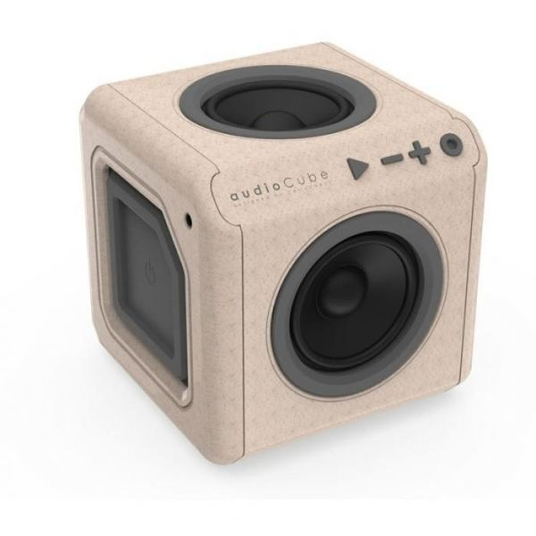Портативна тонколона Allocacoc audioCube |Portable| WOOD edition