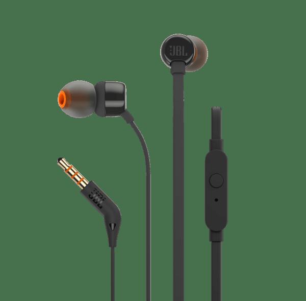 JBL T210 in-ear слушалки, черни