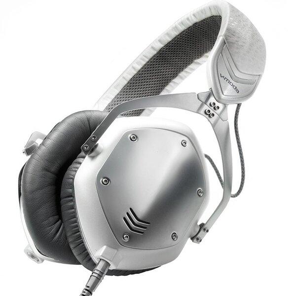 V-Moda M-100-U, White/Silver