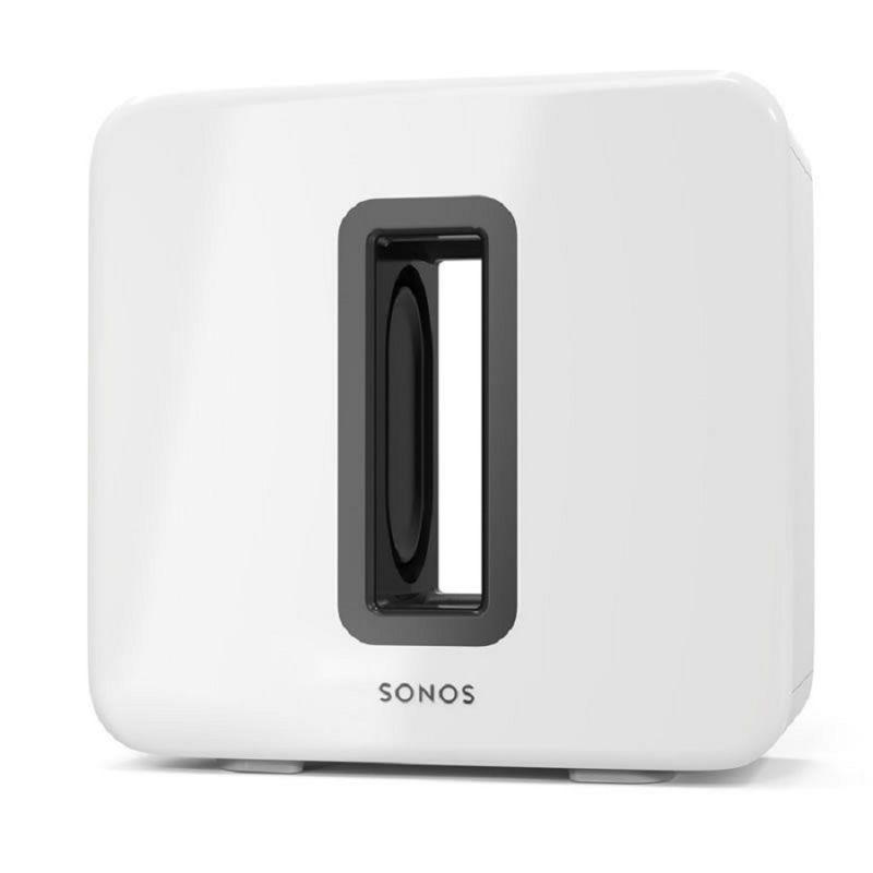 Sonos SUB White Gloss - безжичен субуфер, бял лак