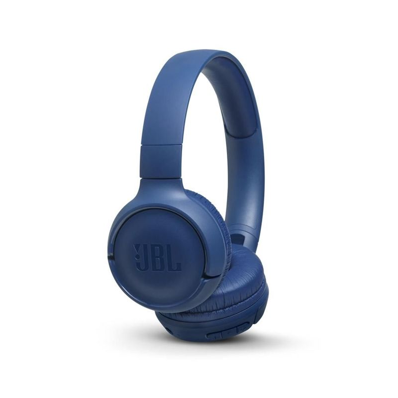 JBL T500 Bluetooth over-ear слушалки, сини