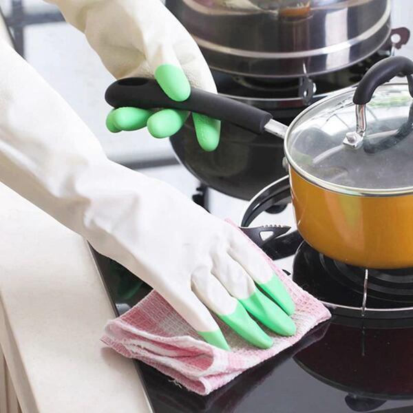 Кухненски гумени ръкавици