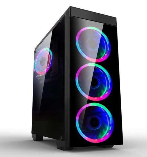 Кутия Estillo 8872 RGB Gaming ATX USB 3.0