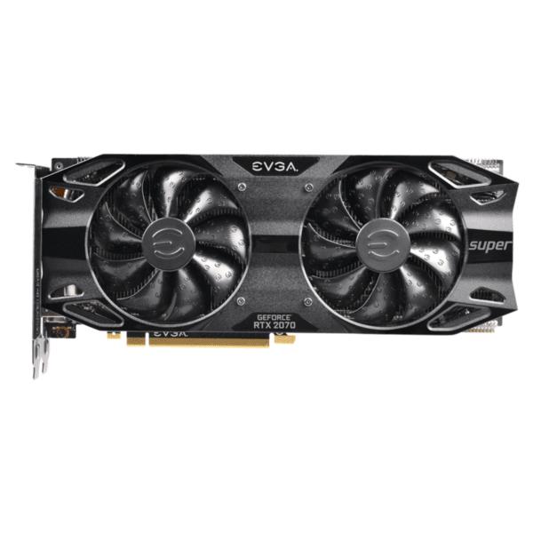Видео карта EVGA GeForce RTX 2070 SUPER BLACK GAMING 8GB GDDR6