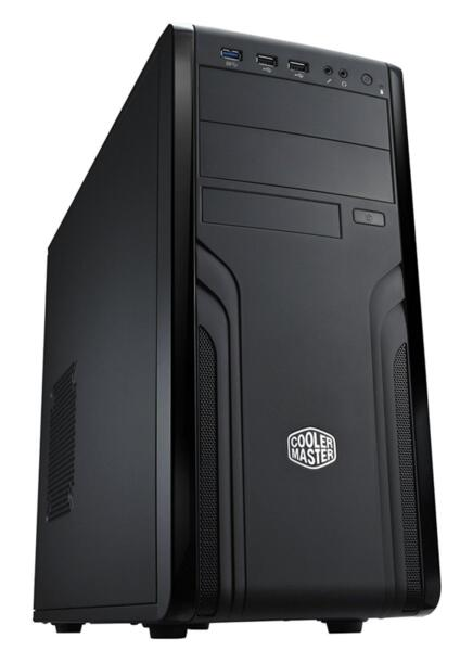 Кутия Cooler Master CM Force 500 FOR-500-KKN1, ATX, Черен