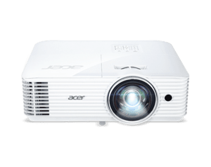 PJ Acer S1286H, DLP® 3D Ready, Short-Throw, Resol.: XGA(1024x768) Format: 4:3, Contrast: 20 000:1, Brightness: 3 500 lumens, ExtremeEco lamp life 10 000 hours, Input: 1 x HDMI, 1xComposite
