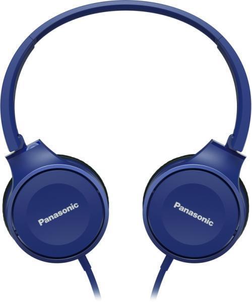 Panasonic олекотени стерео слушалки с наушници, сини