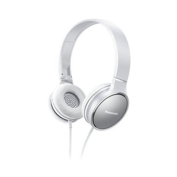 Panasonic висококачествени слушалки с наушници, микрофон, бели