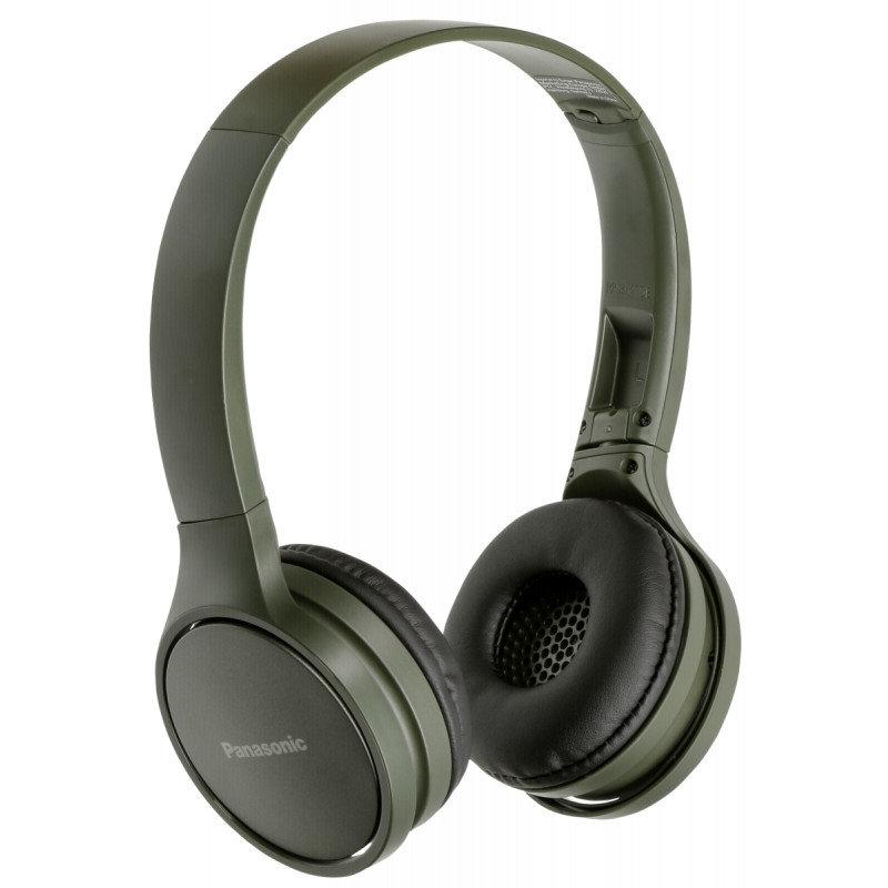 Panasonic безжични стерео слушалки c Bluetooth® и олекотен дизайн, зелени