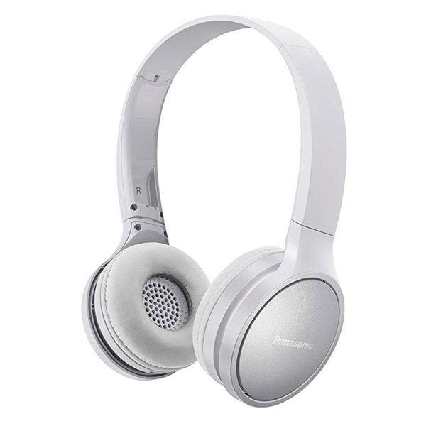 Panasonic безжични стерео слушалки c Bluetooth® и олекотен дизайн, бели